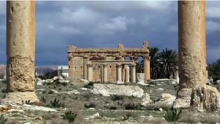 पल्माइरा टेंपल, सीरिया
