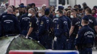 Полиция Венгрии