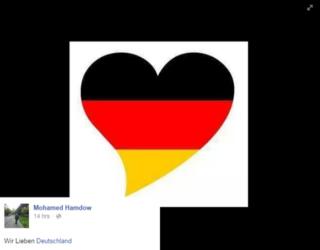 Sírios inundam redes com mensagens de amor para Merkel