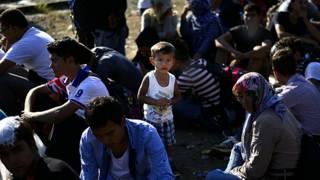 Мигранты у границ Европы