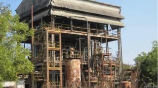 भोपाल में यूनियन कार्बाइड का कचरा