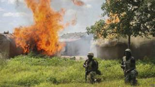 Wanajeshi wakikabili Boko Haram