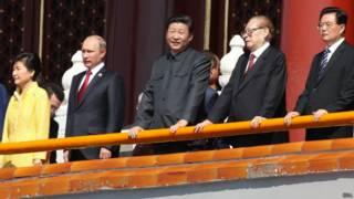 चीन के राष्ट्रपति शी जिनपिंग और रूस के राष्ट्रपति व्लादिमिर पुतिन