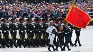 中國閱兵(3/9/2015)