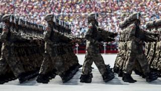 台灣輿論對中國閱兵評論不一