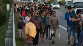 Austria y Alemania abren sus fronteras a la ola de migrantes proveniente de Hungría