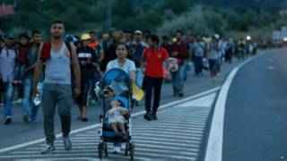 Migrants Austria