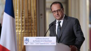 फ्रांस के राष्ट्रपति
