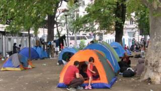 Белград і мігранти