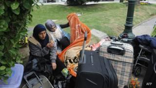 Refugiados sirios en Montevideo