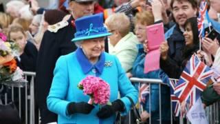 英女王伊麗莎白二世對各方祝願表示感謝