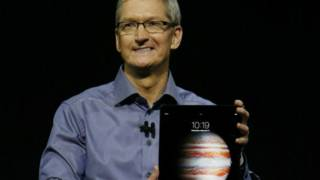 Тим Кук представляет новый iPad Pro