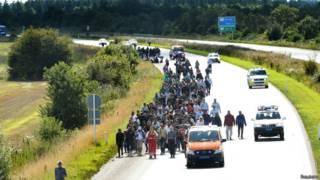 यूरोप में शरणार्थी