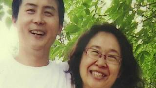 Li Heping y su esposa Wang Qiaoling