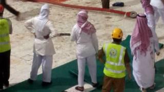 Hadari a masallacin Ka'aba a kasar Saudia