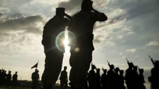US forces on Okinawa