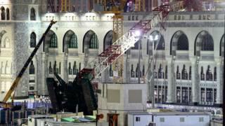 строительный кран обрушился на мечеть Аль-Харам в Мекке