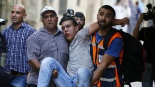 Столкновения у мечети Аль-Акса