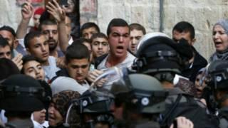Makabiliano msikiti wa al-Aqsa