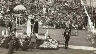 कर्नल तारापोर की पत्नी को परमवीर चक्र प्रदान करते राष्ट्रपति राधाकृष्णन