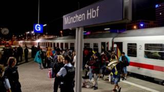 На мюнхенском вокзале
