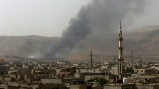 Сирия, панорама города