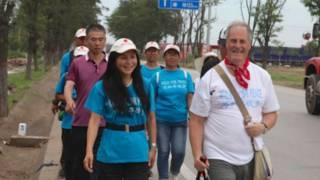 麥克·貝茨與妻子李雪琳