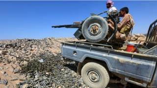 مقتل 7 حوثيين وأسر 9 في كمين بمحافظة البيضاء جنوب شرقي اليمن
