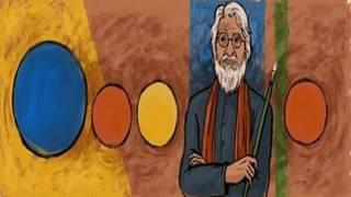एमएफ़ हुसैन गूगल डूडल