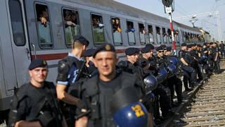 Crisis migratoria: Croacia cierra cruces fronterizos con Serbia