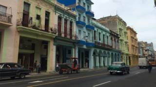 Rua Reina, em Havana | Foto: BBC Brasil
