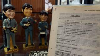 Первый контракт Beatles