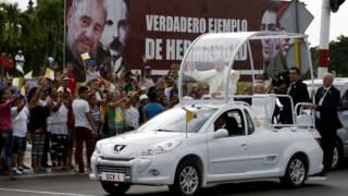 Папа римский на Кубе
