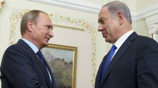 Путин, Нетаньяху