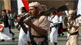 مسلحون يمنيون