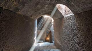 Один из подземных туннелей под Ливерпулем