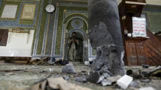 यमन में विस्फोट