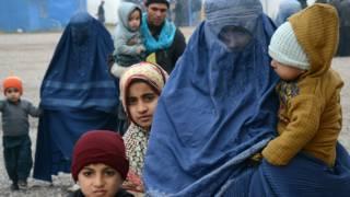 逃到巴基斯坦白沙瓦的阿富汗難民(2/2/2015)