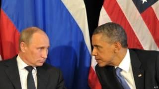 سپینه ماڼۍ وايي، اوباما به له پوتین نه په سوریه کې د مسکو د پوځي حضور د پراخولو توضیحات وغواړي