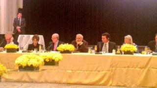 अमरीकी कंपनियों के प्रमुखों के साथ नरेंद्र मोदी