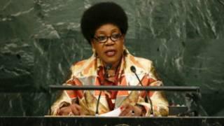 Shugabar jamhuriyar tsakiyar Afrika Catherine Samba Panza
