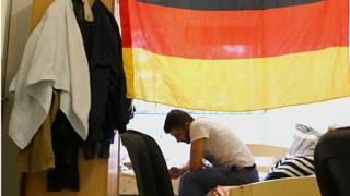 Мигрант в Германии