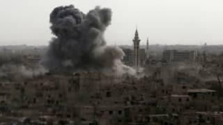 Обстрел Дамаска