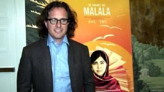 malala with director