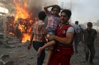 Quién pelea contra quién en la guerra en Siria