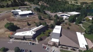Кампус колледжа в Роузбурге, Орегон