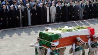 церемония в Тегеране