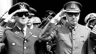 Gustavo Leigh y Augusto Pinochet
