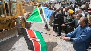 Kikwete na Kenyatta