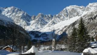 O monte Macugnaga, em 2008 (Foto: Archivio Distretto Turistico dei Laghi)